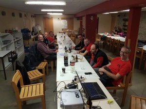 Volunteers at HQ