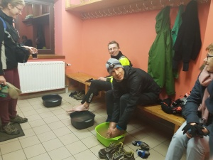 Later number 1 Teun Geurts and number 2 Yvo Steyaert at CP4