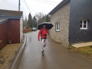 Umbrella Legend Joel Laguna Belver leaving CP4